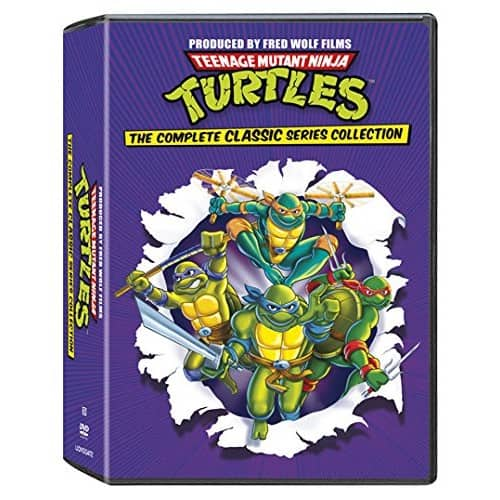 Teenage Mutant Ninja Turtles: The Complete Classic Series Collection (DVD) $30 + Free Shipping $29.96