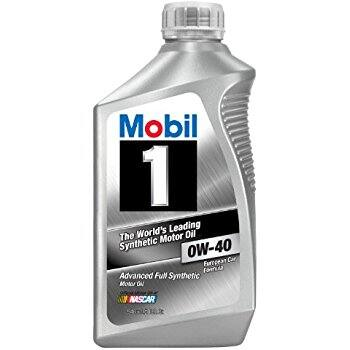6-Pack of 1-Quart Mobil 1 Synthetic 0W-40 Motor Oil $27