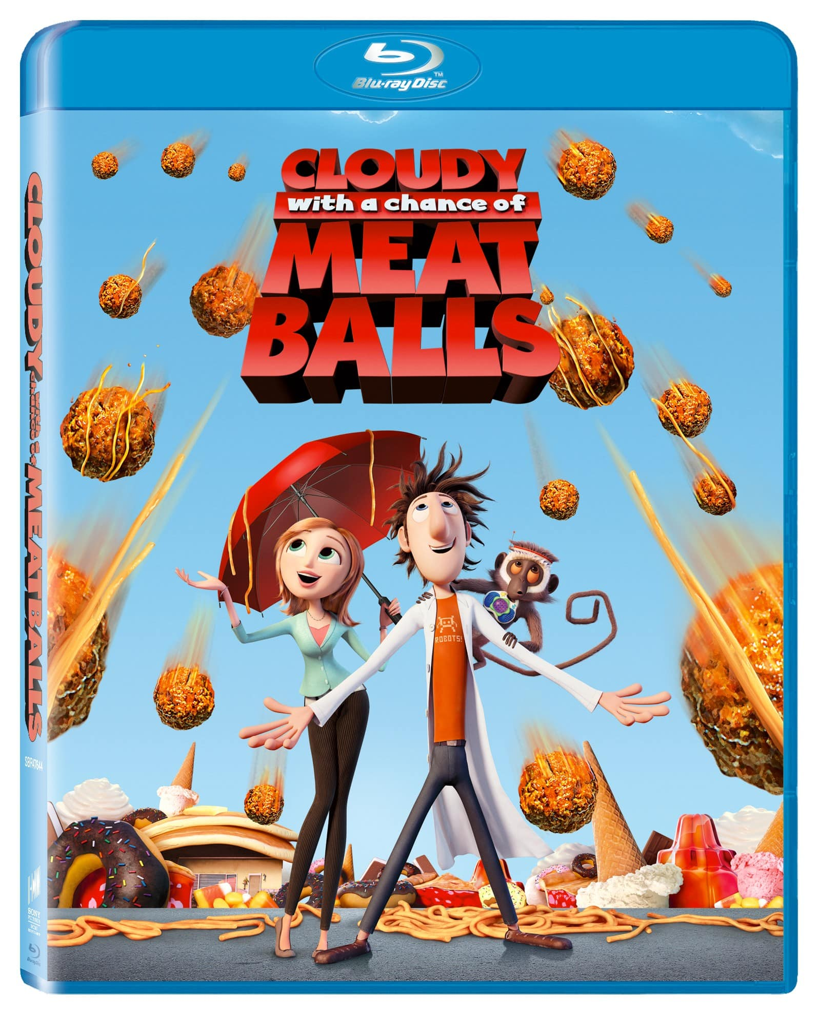 Select Blu-Ray Movies (Cloudy with a Chance of Meatballs, & More) - $5 + Free Shipping over $25