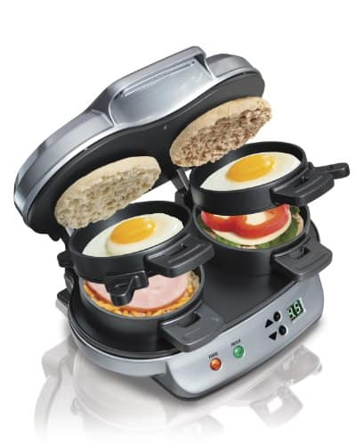 Hamilton Beach Dual Breakfast Sandwich Maker - $24.99 (New)