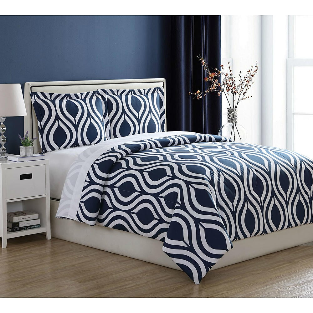 Essential Home Comforter Set -Twin/Queen/Full 9.99+Free Store Pickup at Kmart $9.99