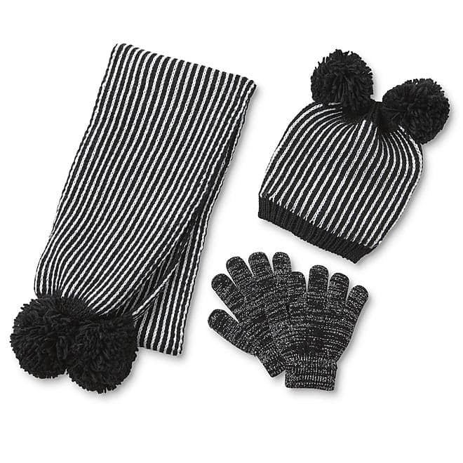 Kmart kids gloves and hats from 4/.80 + Free Store Pickup $0.2