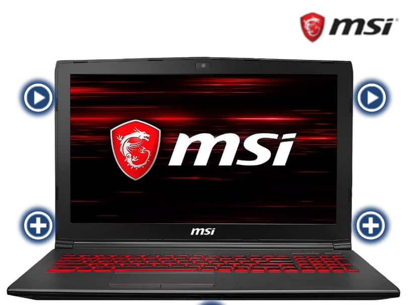 "MSI GV62 8RE-016 15.6""/GTX1060/i5-8300H/8GB RAM/1TB HDD/128GB SSD/Laptop $619 @Newegg"
