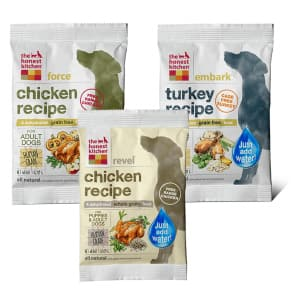 Honest Kitchen DOG CAT food  50% off 2 lb Free Ship $15