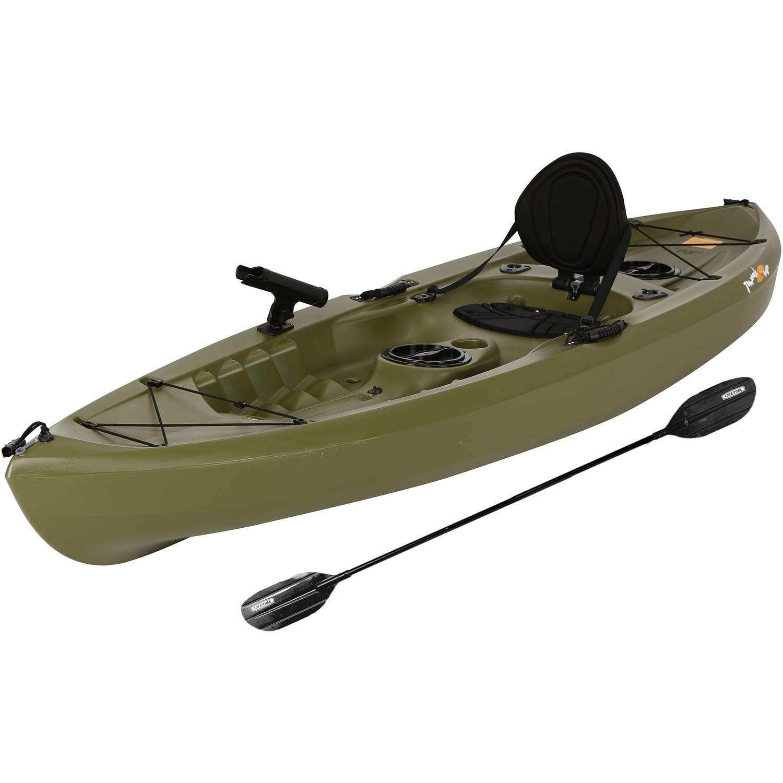 Lifetime tamarack 120 angler kayak olive green page 5 for Tamarack fishing kayak