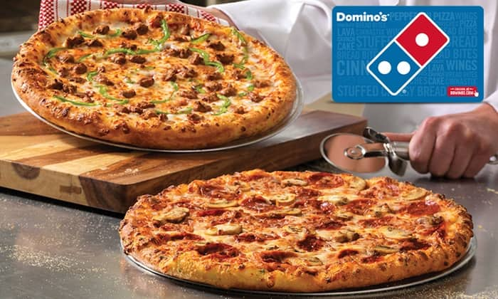 Invite Only - Domino's $20 eGift card in $10 at Groupon