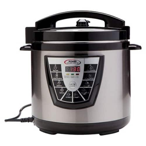 Power Pressure Cooker XL 6 Qt - Silver $59.99 + Free Shipping $59.97