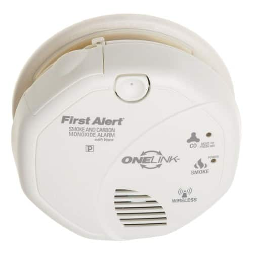 First Alert SCO501CN-3ST Battery Operated Combination Smoke and Carbon Monoxide Alarm with Voice Location $33.97