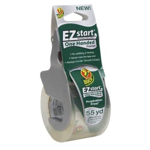 Duck EZ Start Packing Tape With One-Handed Dispenser $2.86 + Free shipping