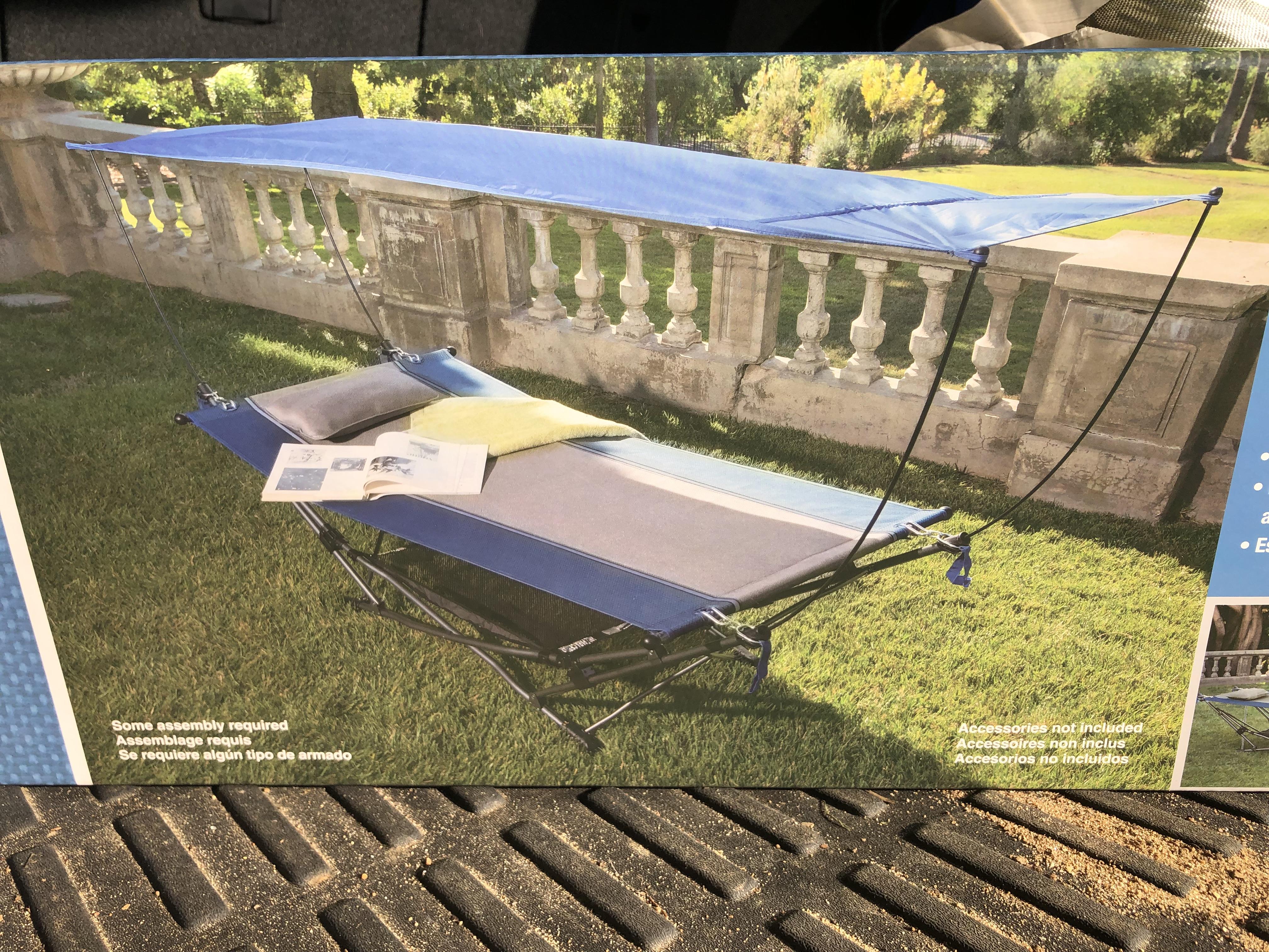Costco Folding Hammock With Removable Canopy Ymmv 40 Slickdeals Net