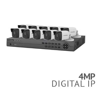 Laview 16 Channel 4K NVR Security System with 10x 4MP HD IP Cameras - 3TB HDD $979