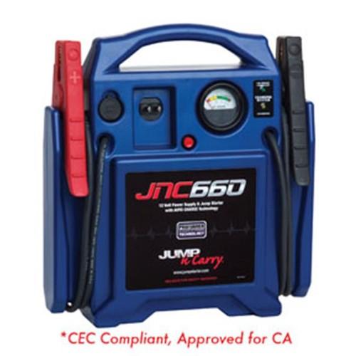 Jump-N-Carry JNC660 1700 Peak Amp 12V Jump Starter [JNC660, Lead-Acid] $99.99 + Free Shipping