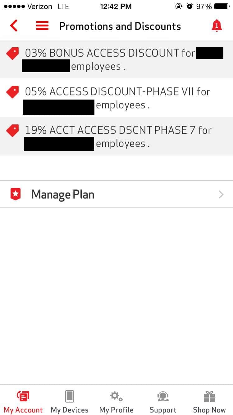 Verizon Wireless Customer Loyalty Discount: Up To 8% Off Your ...