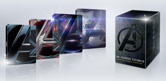 Avengers 4 Movie 4K Steelbook Collection @ Best Buy $99.99