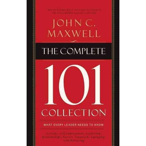 The Complete 101 Collection: What Every Leader Needs to Know - John C. Maxwell - Kindle Edition $5.99