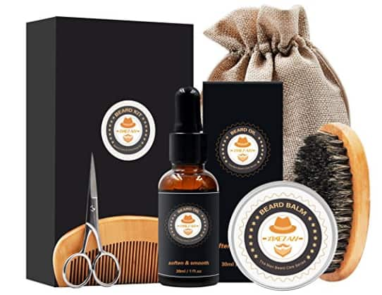 Amazon - Mens gifts for Men Beard Care Grooming & Trimming Kit $11.79