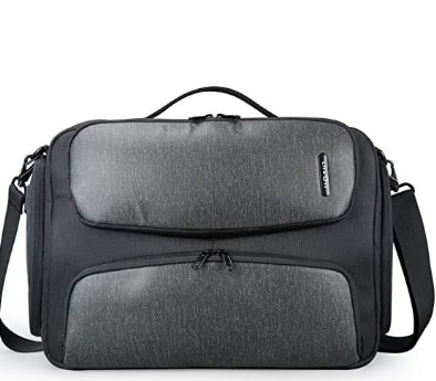 17 inch Laptop Messenger Bag Military Business Briefcase with Rain Cover Multifunctional Work Crossbody Bags School Bookbag, USB Charging Port $32.49