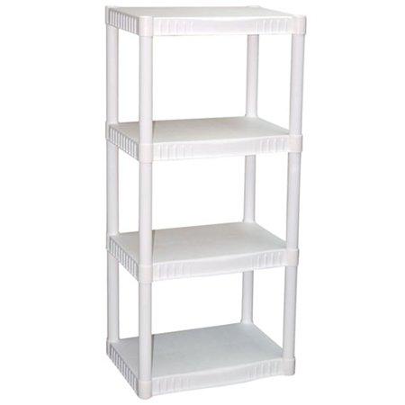 Plano 4-Tier Heavy-Duty Plastic Shelves for $14.97 @walmart