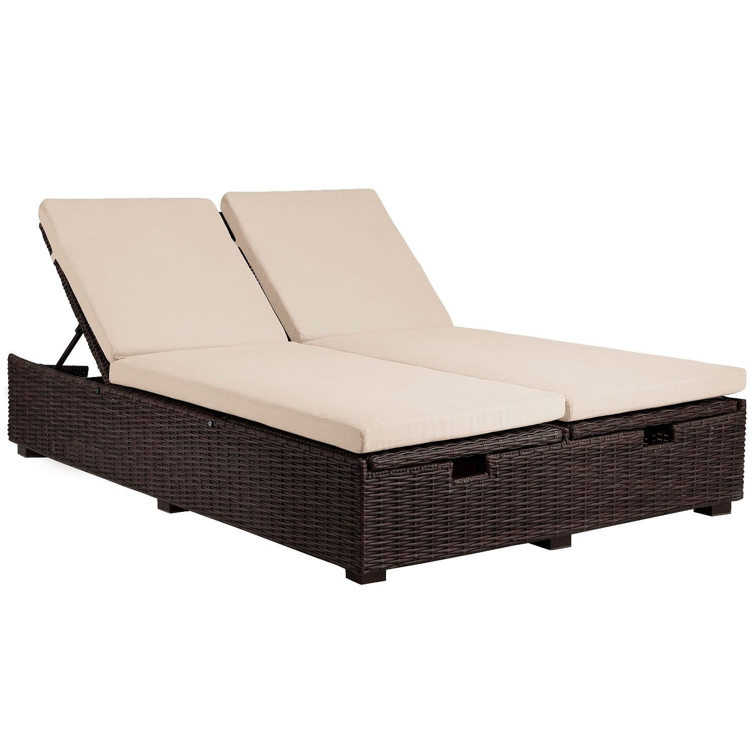 Ymmv Echo Beach Collection Brown Double Chaise Lounge 64 98 Pier1