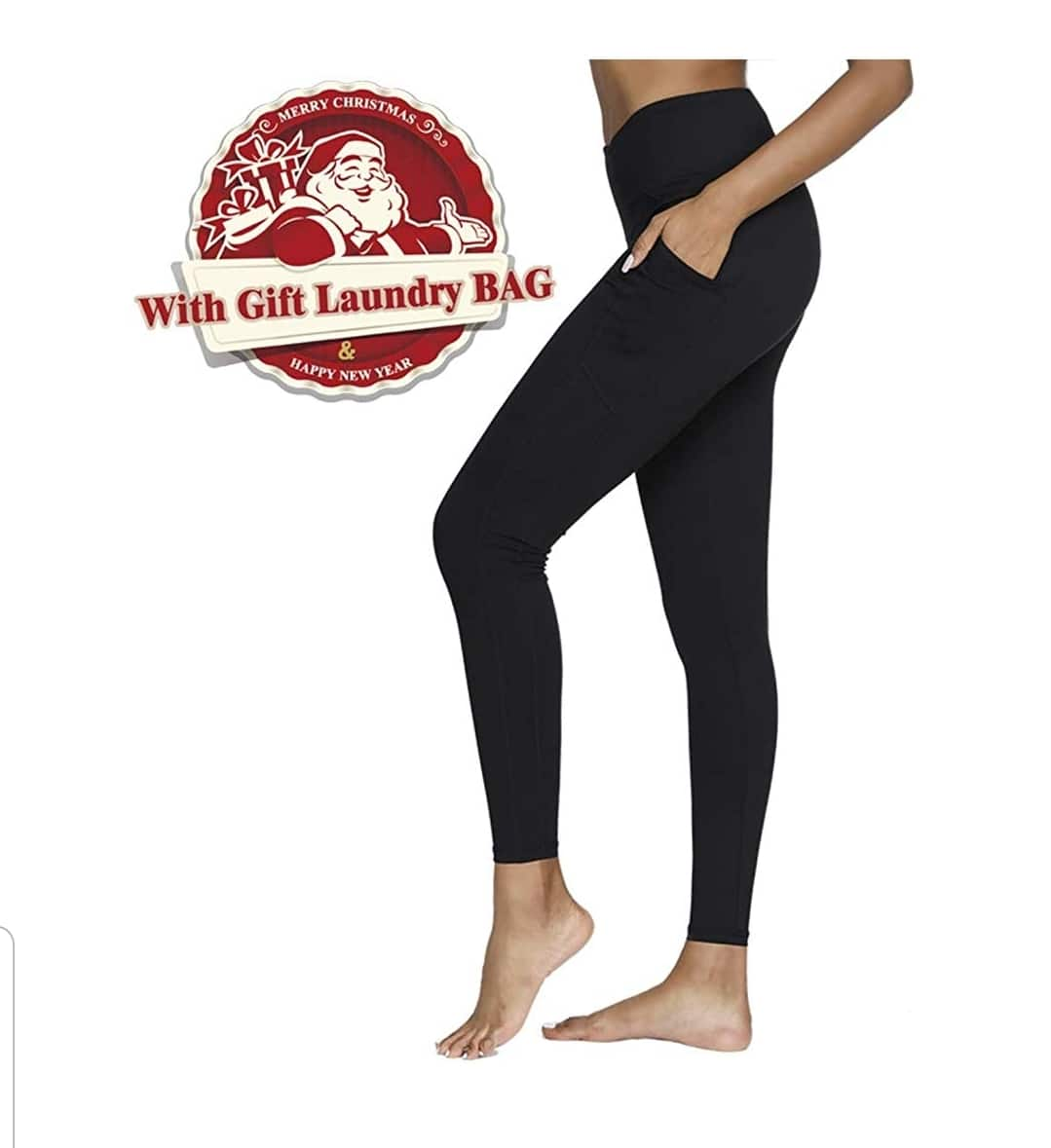 62dd14fad2319 Yoga Pants, Womens Leggings Workout Running Pants With Pockets @Amazon  starting @6.99 $6.99