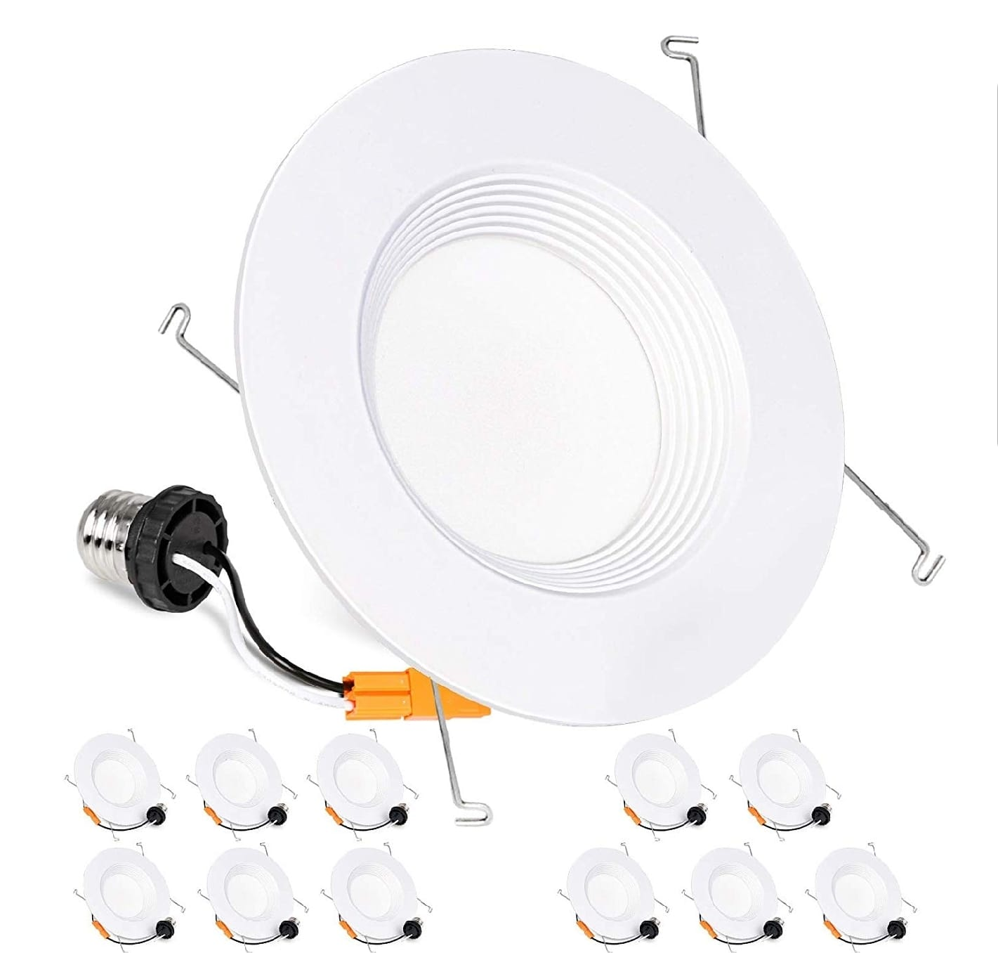 """Hykolity 12 Pack 5/6"""" Dimmable LED Recessed Downlight 3000K/4000K/5000K  $46.79 + Free Shipping"""