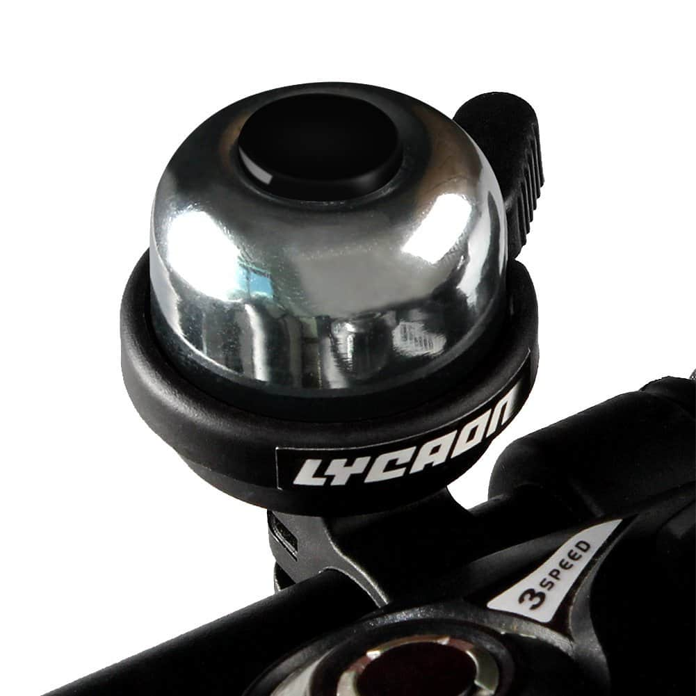 Bike Bicycle Bell Double-Ring Loud Crisp Clear Sound for Scooter Cruiser Ebike Tricycle Mountain Road Bike MTB BMX Electric Bike $2.49