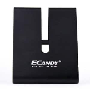eCandy Solid Aluminum Phone or Tablet Stand (black) $4.99 AC - FS w/Prime