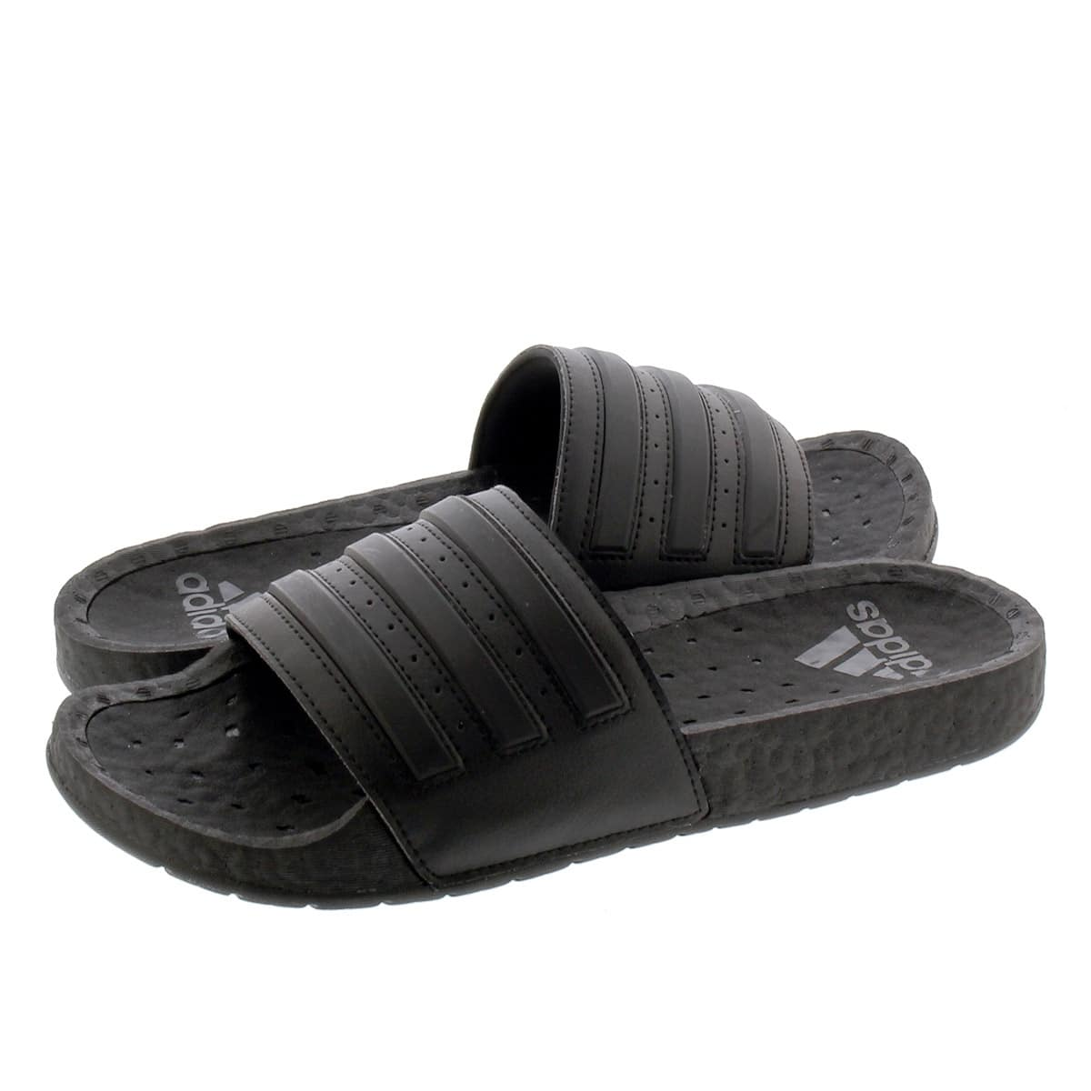 Salón de clases Mago Calificación  Adidas Adilette Boost Ultraboost Slides (triple black) $35 FS most ...