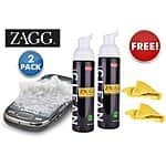 2-pack ZAGGfoam kit with cloth for free + $5 shipping!!