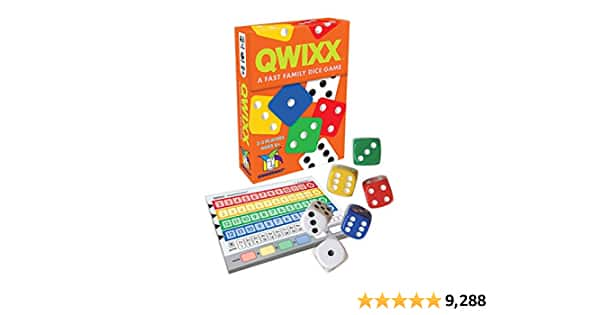 Gamewright Qwixx Family Dice Game $4.99 + Free Shipping with Prime or orders $25+