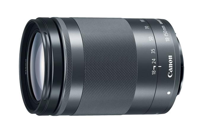 Canon EF-M 18-150mm IS STM Telephoto lens w/Hood Refurb $280