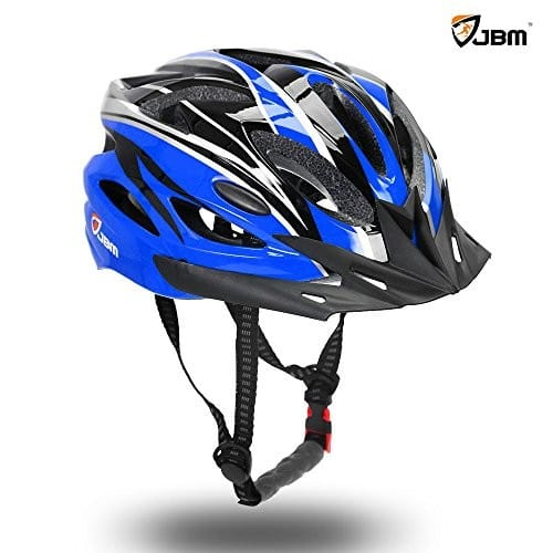 JBM Adult Cycling Bike Helmet Specialized for Men Women Safety Protection CPSC Certified (18 Colors) Adjustable Lightweight Helmet with Reflective Stripe and Remova