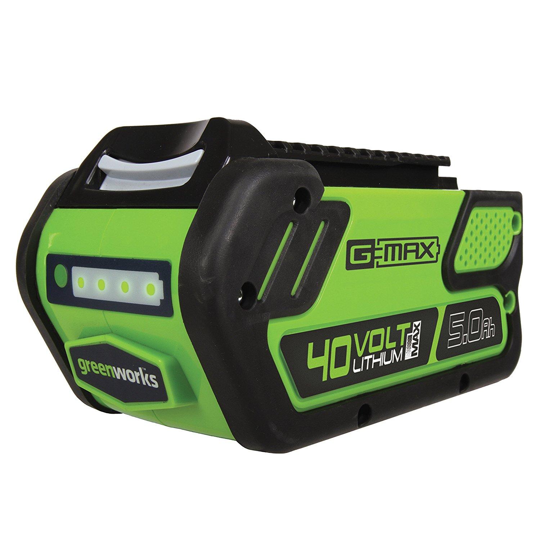 GreenWorks LB40A010 G-MAX 40V 5.0 Ah Battery $111.19