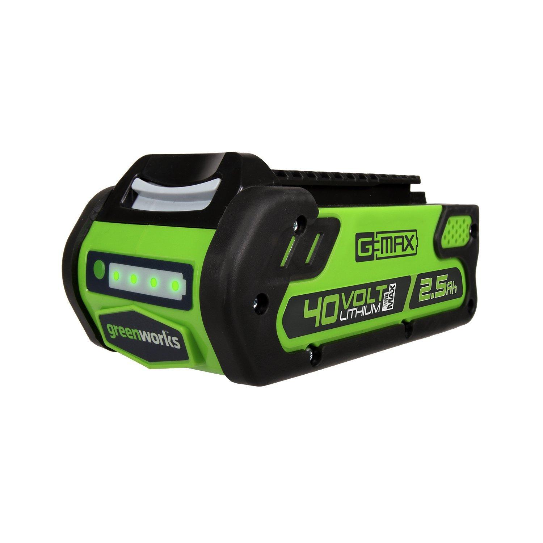 Greenworks 40v 25ah lithium ion battery slickdeals deal image fandeluxe Gallery