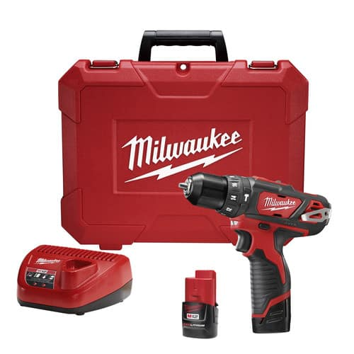 Milwaukee M12 3/8 In. Hammer Drill/Driver Kit $75
