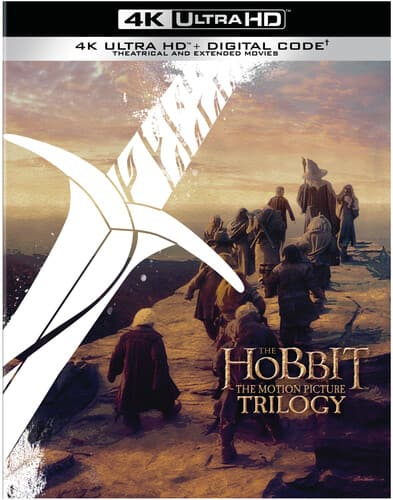 The Hobbit: The Motion Picture Trilogy [Extended/Theatrical] [Digital Copy] [4K Ultra HD Blu-ray] $79.96 Free Ship at Walmart