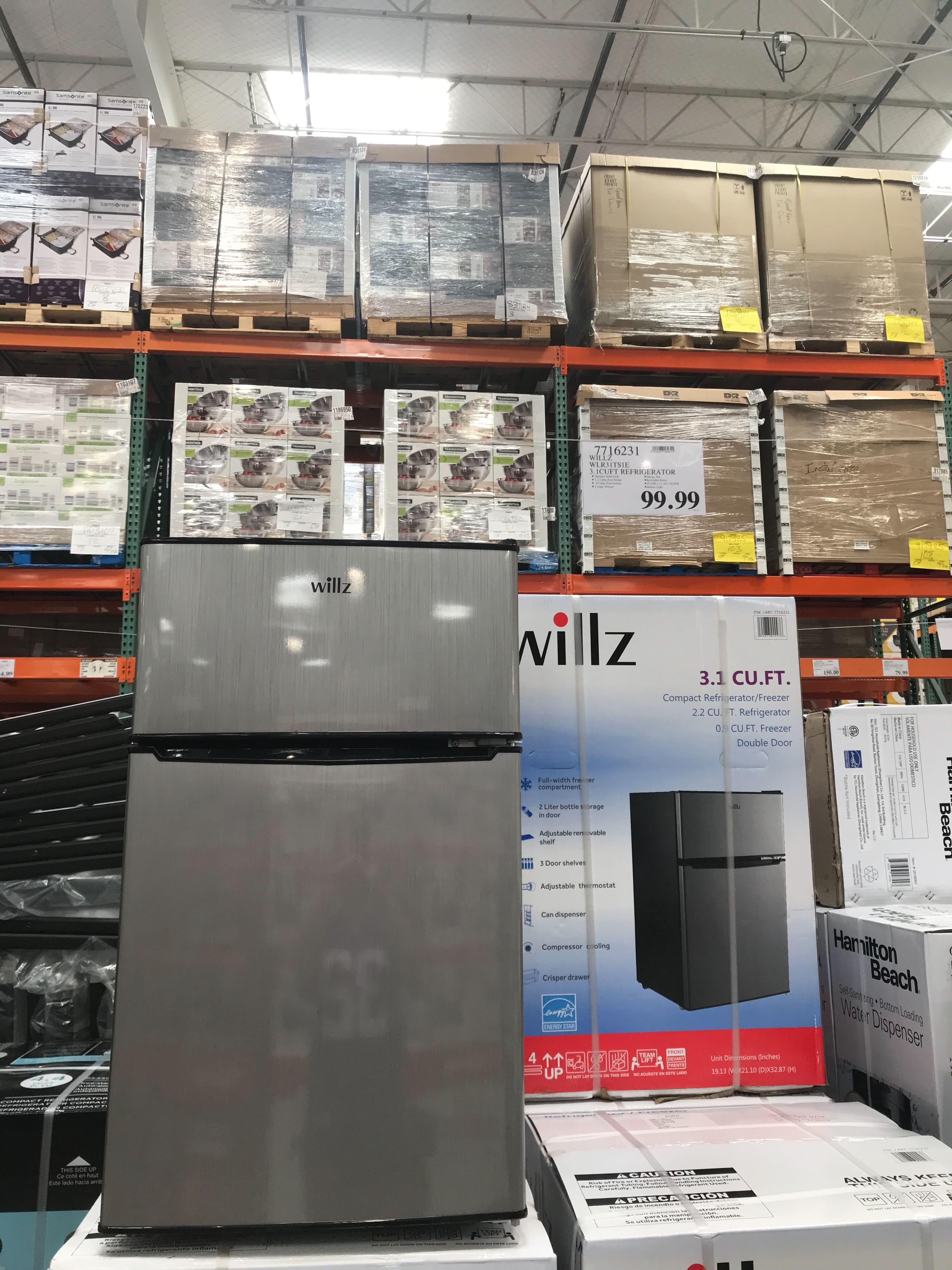 Costco in-store YMMV ~ WILLZ mini-fridge 3.1cuft $99.99