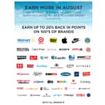 Get $10 back in SYWR points (10,000 points) when you spend $10 at a Rewards Brand. YMMV?