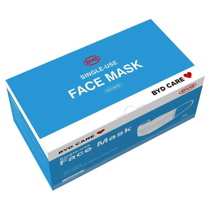 Single use Face Mask - 50 ct - $22.99 @ Costco Limit 8