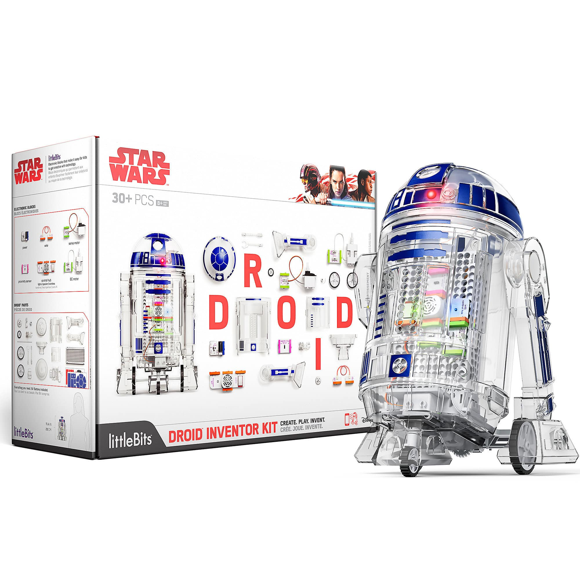 shopDisney Droid Inventor Kit by littleBits $80