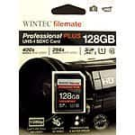 $ 33.99 WINTEC Filemate Professional Plus 128GB UHS-I U1 SDXC Class 10