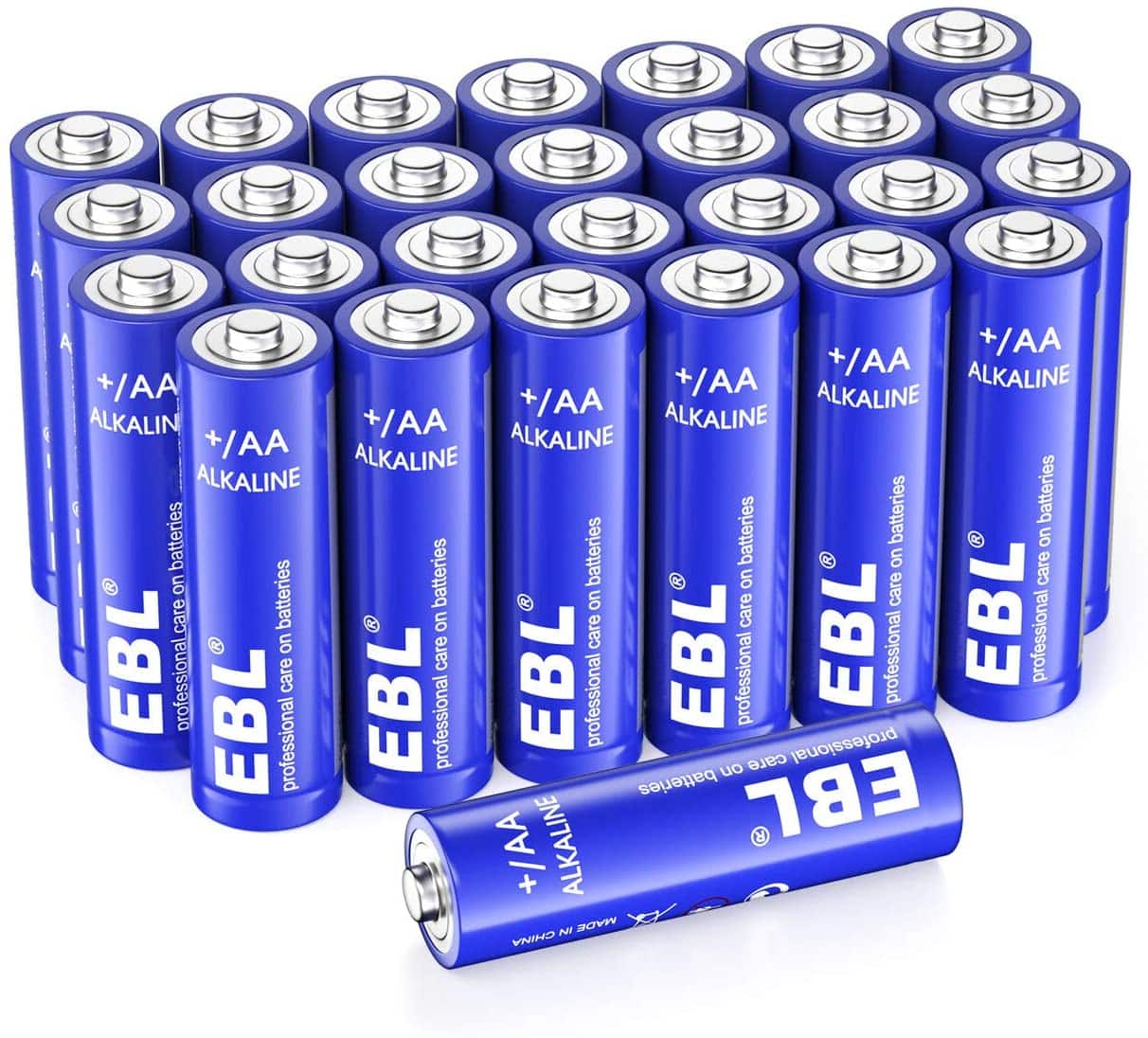 EBL Alkaline AA Batteries (28 Count), 1.5V Double A Long Lasting Alkaline AA Battery $9.59 at Amazon