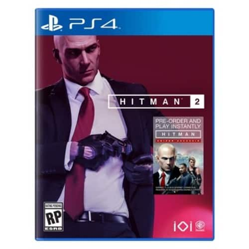 Hitman 2 for PS4/Xbox or Diablo III: Eternal Collection for PS4 $12.75 Target (Store Pickup)
