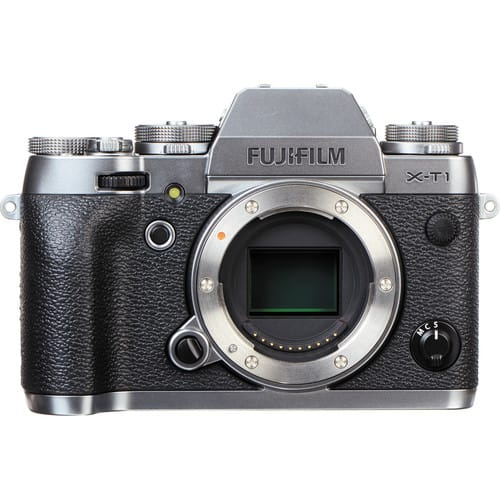 Fujifilm X-T1 Mirrorless Digital Camera (Body Only, Graphite Silver) $599 + Free Shipping