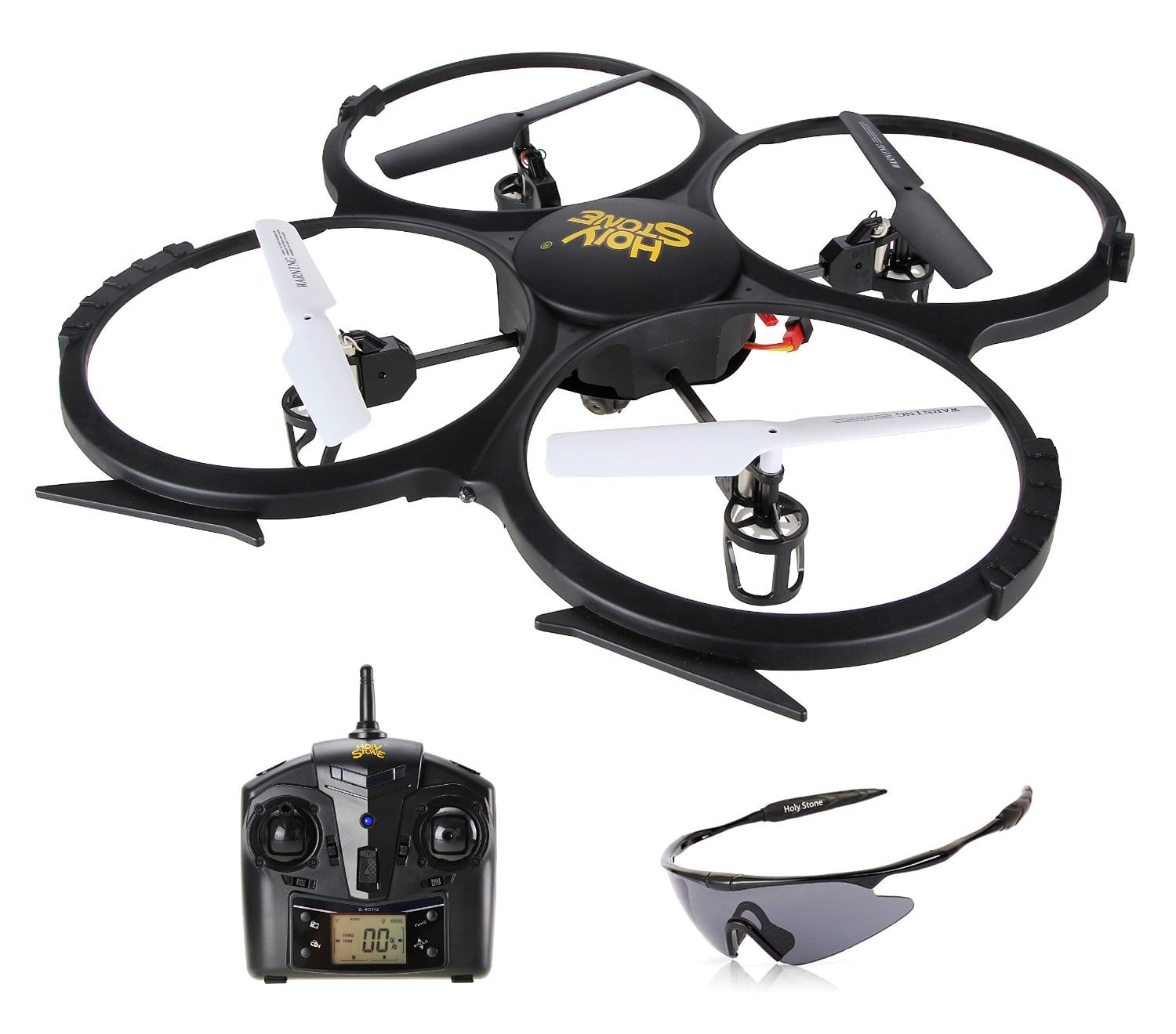 Holy Stone U818A HD Plus Drone with Camera 2.4GHz 4 Channel 6-Axis Gyro Quadcopter for $64.99