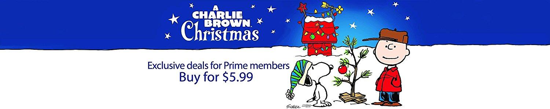 A Charlie Brown Christmas (Digital HD) - $5.99 (PRIME exclusive)