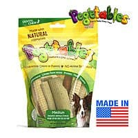 FREE PLUS SHIPPING! - Pegetables Healthy Dental Chews Made From Vegetables - Made in USA