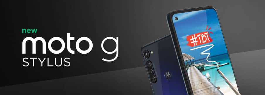 Free moto-g-stylus-128GB on Metro - B&M only