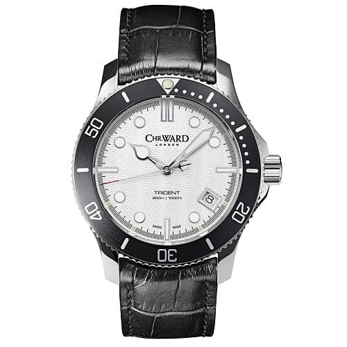 Christopher Ward 30% off all white trident watches.