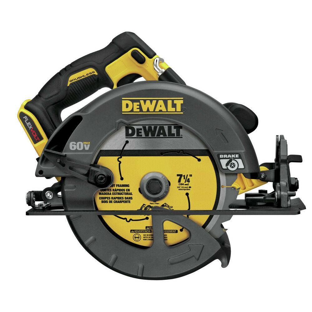"DeWALT FlexVolt 60V Max Li-Ion 7-1/4"" Circular Saw (Tool Only)"